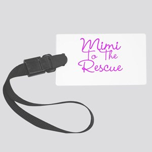 Mimi To The Rescue Luggage Tag