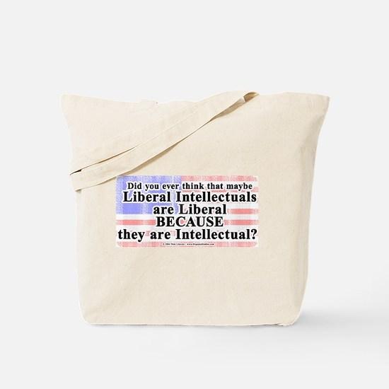 Liberal Intellectual Tote Bag