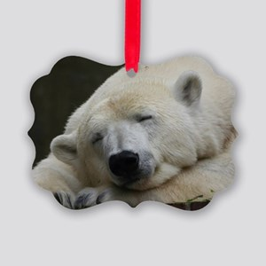 Polar bear 011 Picture Ornament