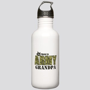 Camo Proud Army Grandp Stainless Water Bottle 1.0L