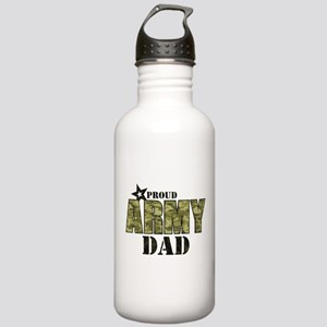 Camo Proud Army Dad Stainless Water Bottle 1.0L