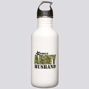 Camo Proud Army Husban Stainless Water Bottle 1.0L
