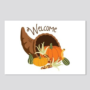 Welcome Postcards (Package of 8)