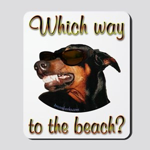 Beach Dobe Mousepad