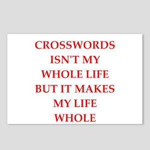 crosswords Postcards (Package of 8)