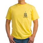 Train Railroad - I chase trains Yellow T-Shirt
