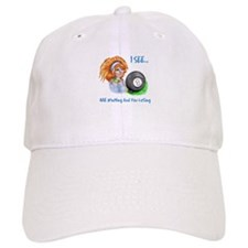 8 Ball Fortune Teller Cap