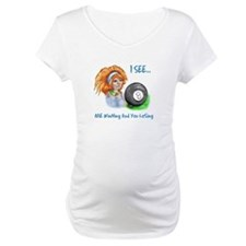 8 Ball Fortune Teller Maternity T-Shirt