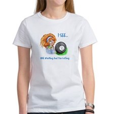 8 Ball Fortune Teller Women's T-Shirt