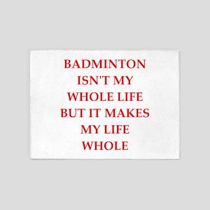 badminton 5'x7'Area Rug