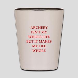ARCHERY Shot Glass