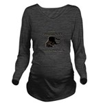 The Pissed Pony Long Sleeve Maternity T-Shirt