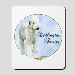 Bedlington Portrait Mousepad
