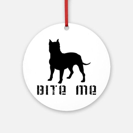 PB BITE ME Ornament (Round)