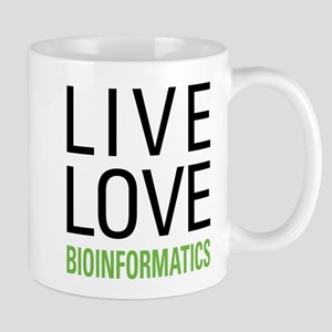 Live Love Bioinformatics Mug
