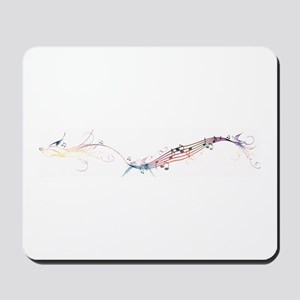 song birds rainbow Mousepad