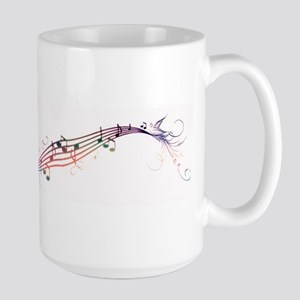 song birds rainbow Mugs