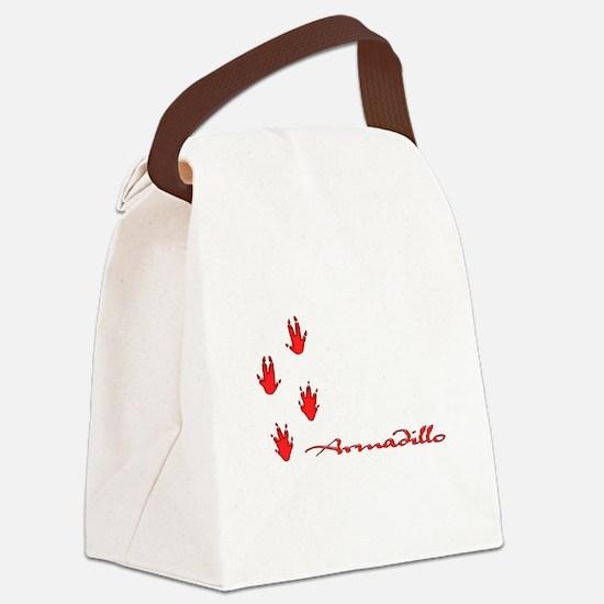 Armadillo Canvas Lunch Bag