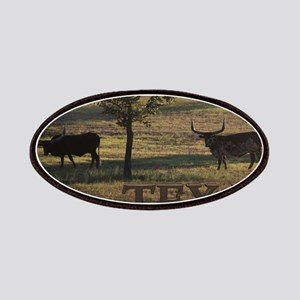 Texas Long Horn Patches