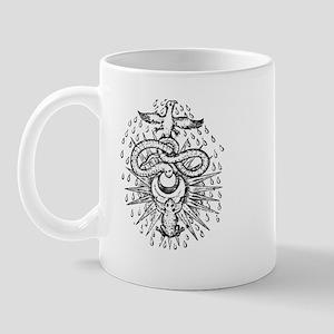 Alchemical Frog, Snake and Ph Mug