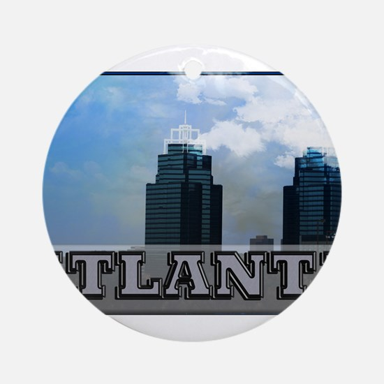 atl.png Ornament (Round)