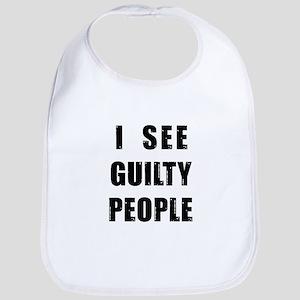 See Guilty People Bib