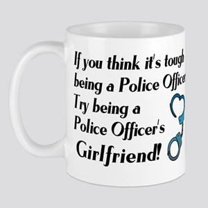 Tough Police Girlfriend Mug