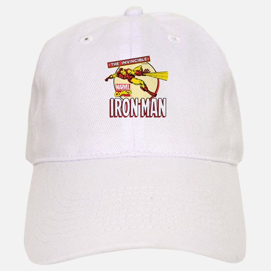 Iron Man Action Baseball Baseball Cap
