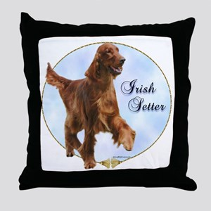 Setter Portrait Throw Pillow