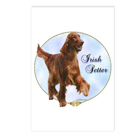 Setter Portrait Postcards (Package of 8)