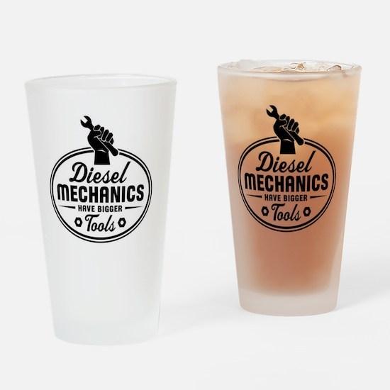diesel mechanics Drinking Glass