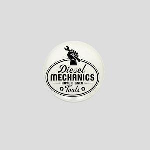 diesel mechanics Mini Button
