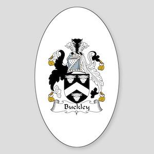 Buckley Oval Sticker
