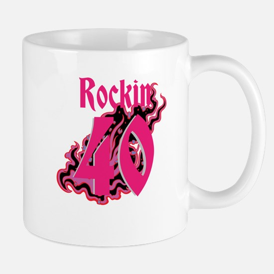 Rockin 40 Mugs