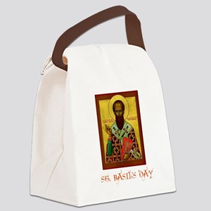St. Basils Day Canvas Lunch Bag