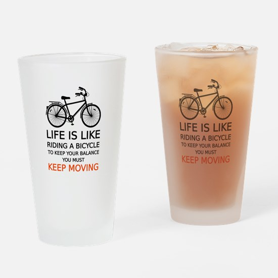 life is like riding a bicycle, word art, text Drin