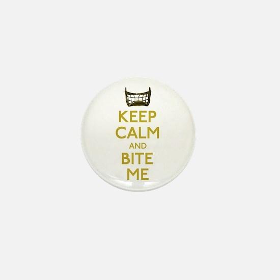 Keep Calm And Bite Me (net) Mini Button