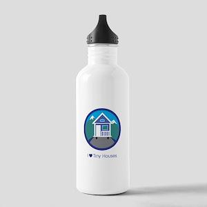 Ilovetinyhousesmountai Stainless Water Bottle 1.0l