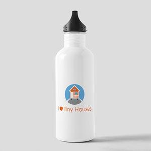 Ilovetinyhousesorangeh Stainless Water Bottle 1.0l