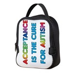 Autism Acceptance Neoprene Lunch Bag