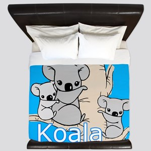 Koala Bears King Duvet