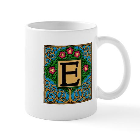 Topiary Monogram E Mug