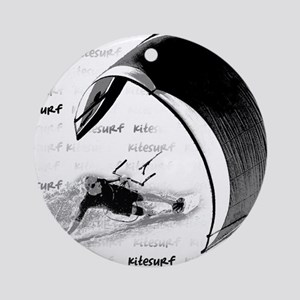 Kitesurf (Light) Ornament (Round)