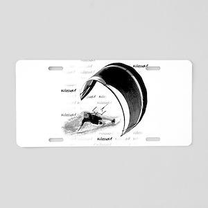 Kitesurf (Light) Aluminum License Plate
