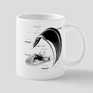 Kitesurf (Light) Mugs