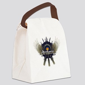 ARCHERY Canvas Lunch Bag