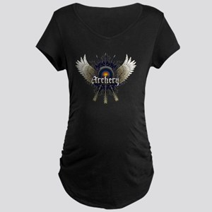 ARCHERY Maternity Dark T-Shirt
