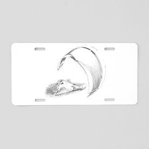 Kitesurf (Dark) Aluminum License Plate