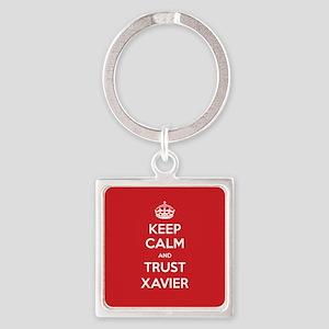 Trust Xavier Keychains