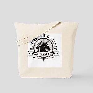 Glitter Guts Glory Tote Bag